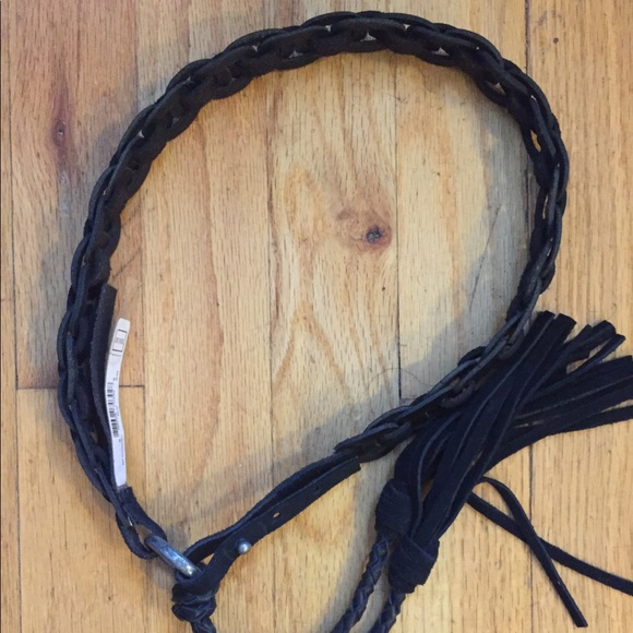 Buffalo by David Bitton Mens Braid Belt